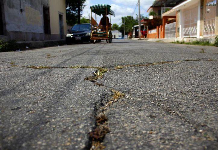 Las obras del Ayuntamiento consideran las calles más dañadas. (Milenio Novedades)