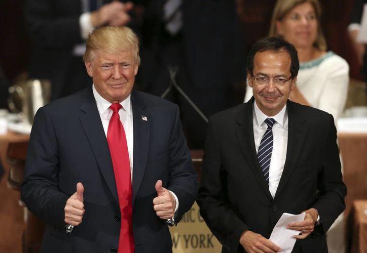 Donald Trump solo ha sido intervenido quirúrgicamente en una ocasión, cuando se le retiró el apéndice. (AP/Seth Wenig)