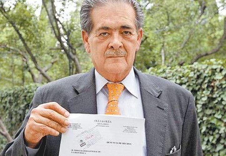 La defensa de los funcionarios mexicanos arrestos en Brasil y encabezada por Xaviel Olea inició la presentación de pruebas. (Milenio/Archivo)