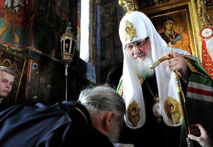 """""""Internet es una gran tentación en nuestro días... hay muchas cosas pecables y tentadoras"""", dijo el patriarca ruso Kiril. (RT)"""