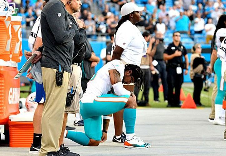 Aficionados nacionalistas de Estados Unidos piden vetar los partidos de la NFL debido a las protestas de algunos jugadores. (Getty Images)