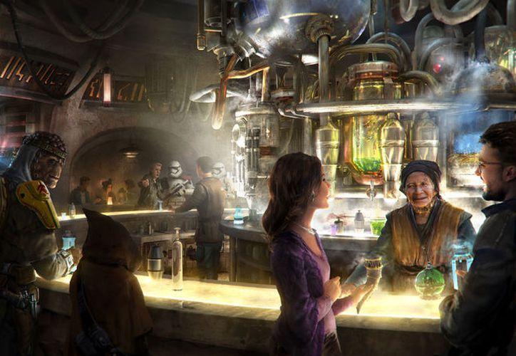 'Oga´s Cantina' abrirá sus puertas el mismo día que el nuevo parque. (Foto: Twitter)