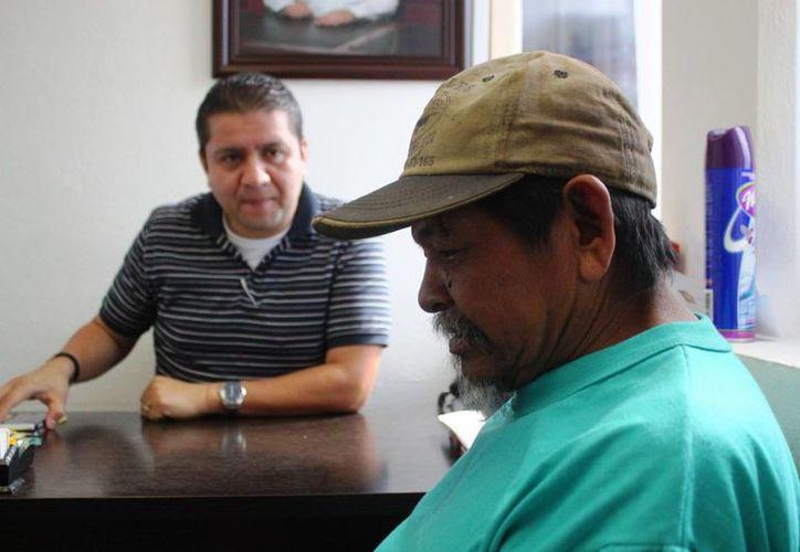 Don José interpuso una denuncia ante el Juzgado Cívico por el ataque del pitbull que recibió. (Daniel Pacheco/SIPSE)