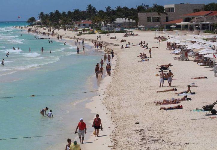 Autoridades de turismo esperan que en Semana Santa la Riviera Maya tenga 90% de sus habitaciones de hotel ocupadas. (Adrián Barreto/SIPSE)