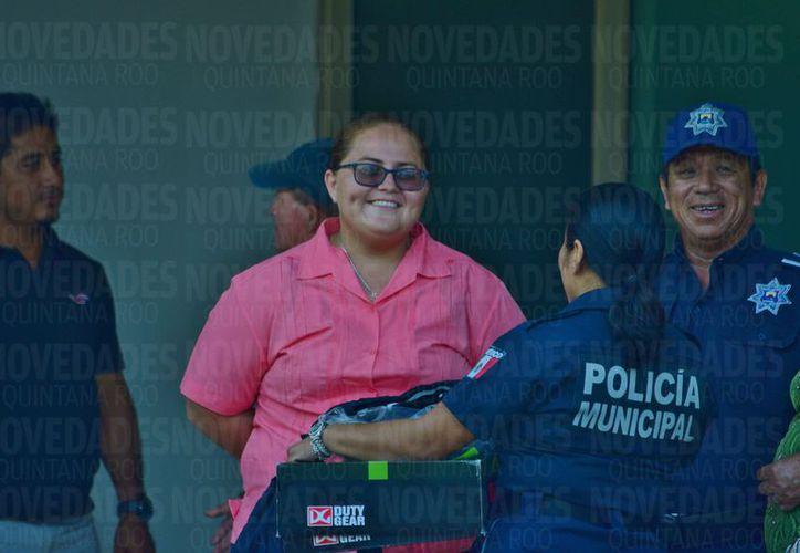 María Yahaira Jiménez Azueta provocó un accidente y tiene entre la vida y la muerte a una persona. (Gustavo Villegas/SIPSE)