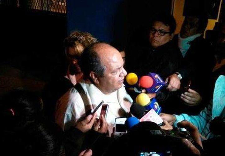Eduardo Quintero, abogado de Hipólito Mora, dijo que al emitir su resolución del caso 'el juez demostró que era un cobarde'. (Milenio/Foto tomada de Quadratín)