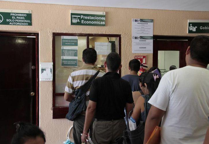 Durante este año sólo 831 personas han validado esta prestación de ley en el IMSS. (Tomás Álvarez/SIPSE)