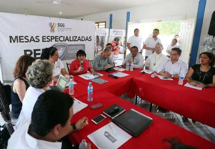 Martha Góngora Sánchez encabezó la mesa especializada (Milenio Novedades).