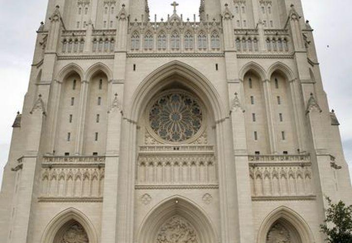 La catedral, cuyo nombre oficial es San Pedro y San Pablo, es la sede de la Iglesia Episcopal en Estados Unidos y la sexta catedral más grande del mundo.  (EFE)