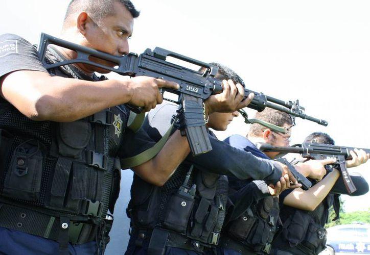 Anteriormente las policías preventivas operaban dividiéndose en dos sectores la capital del estado. (Carlos Horta/SIPSE)