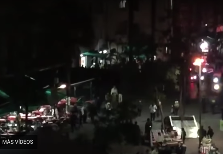 La dependencia reporta tres muertos y 7 heridos. (Foto: Captura del video)