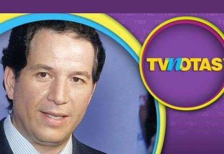 El comentarista Javier Alarcón (foto) demandó a la revista TV notas que, tras la salida del cronista de la empresas Televisa, publicó imágenes e informaciones que lo incomodaron. (Archivo/acento.com.mx)