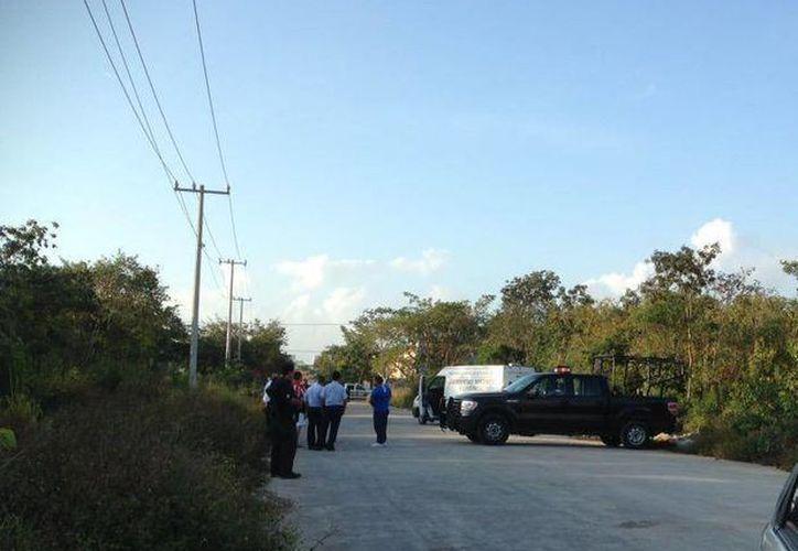 El cuerpo fue hallado en marzo pasado, en un área verde del fraccionamiento Andalucía. (Eric Galindo/SIPSE)