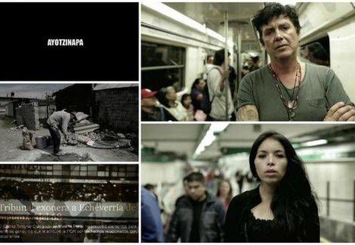 El nuevo video de Saúl Hernández no solo se refiere a los normalistas desaparecidos sino a otros casos no resueltos. como los feminicidios de Juárez.