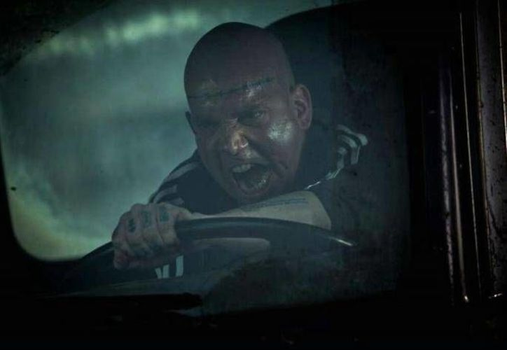 El director Marc Webb reveló la primera imagen de Paul Giamatti como 'Aleksei Mikhailovich Sytsevich', alias 'Rhino'. (Twitter)