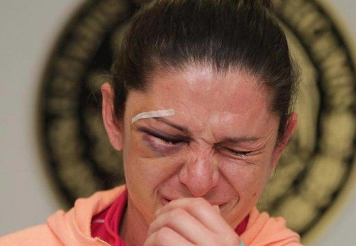 Ayer, la senadora Ana Gabriela Guevara ofreció una conferencia de prensa para hablar sobre el ataque que sufrió por parte de cuatro hombres. (fernandafamiliar.soy)