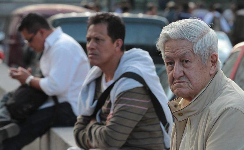 La población de México ha entrado a una espiral de envejecimiento que implicará muchos retos en los próximos años. (Notimex)