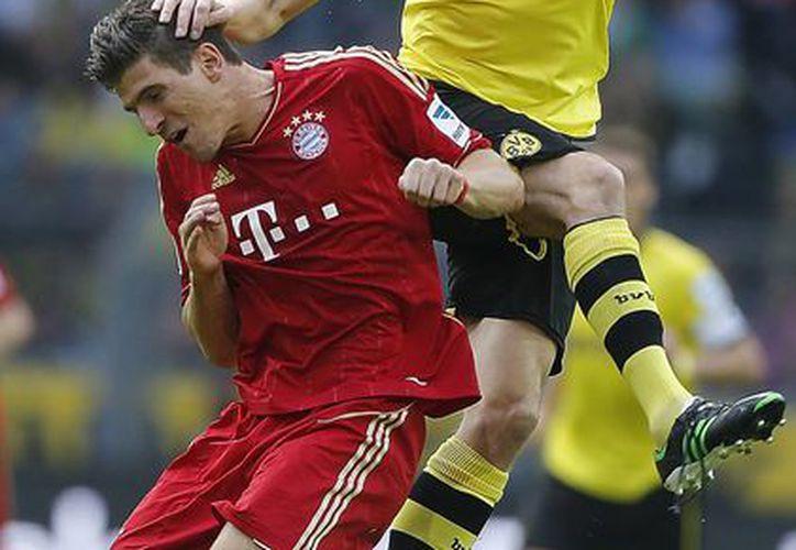 El Bayern terminó el encuentro con 10 hombres. (Foto: Agencias)