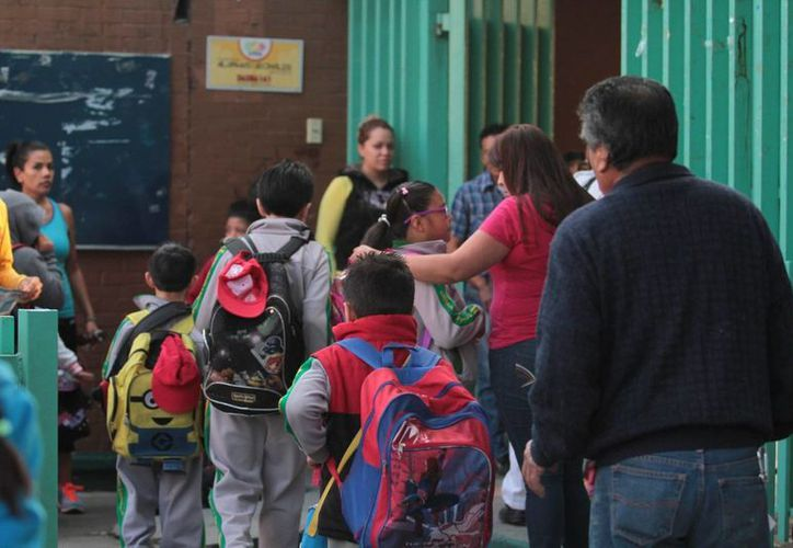 La Ieepo garantizó las condiciones para que el próximo 24 de agosto inicien las clases en los colegios de Oaxaca. Foto de contexto. (Archivo/Notimex)