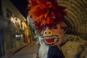 La fiesta de los muertos en México