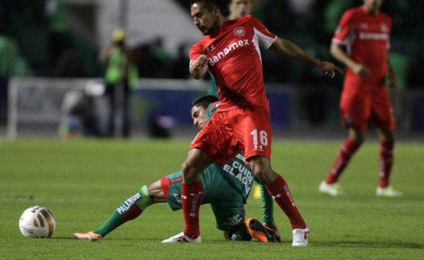 Toluca entró a la siguiente ronda de la Liga MX con el reglamento en la mano. (Notimex)