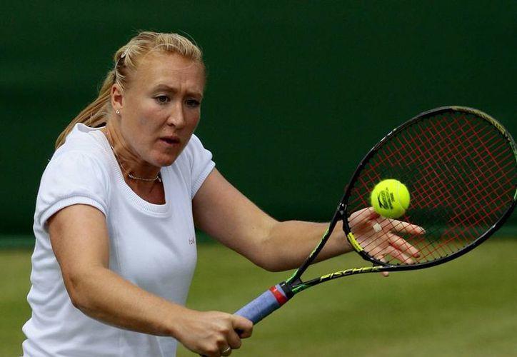 Elena Baltacha se retiró del tenis profesional en noviembre de 2013 tras una carrera en la que llegó a ser número uno del Reino Unido de diciembre de 2009 a junio de 2012. (EFE/Archivo)