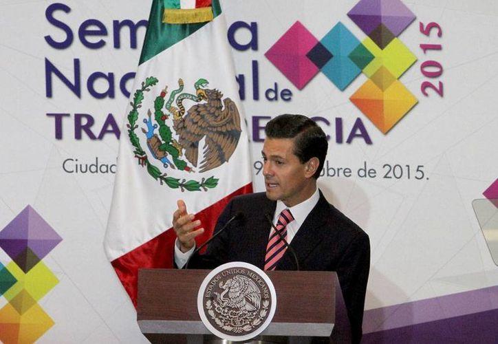 El presidente Enrique Peña Nieto tendrá una gira por Europa, en 2016, anunció la SRE. (Notimex/Archivo)
