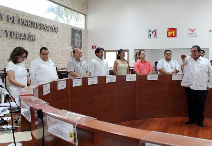 Hidalgo Victoria, después de su nombramiento, dijo que este nombramiento significa un reto y a la vez un compromiso. (Milenio Novedades)