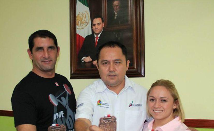 La chetumaleña ganó tres medallas de bronce en el Mundial de Polonia. (Ángel Mazariego/SIPSE)