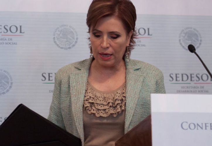Rosario Robles desvío dinero hacia empresas fantasmas. (Cuartoscuro)
