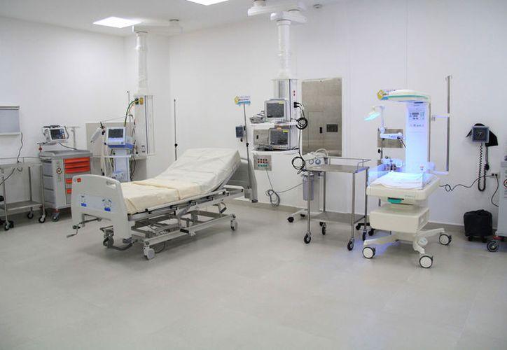 Las instalaciones del nosocomio están listas para entrar en funciones. (Israel Leal/SIPSE)