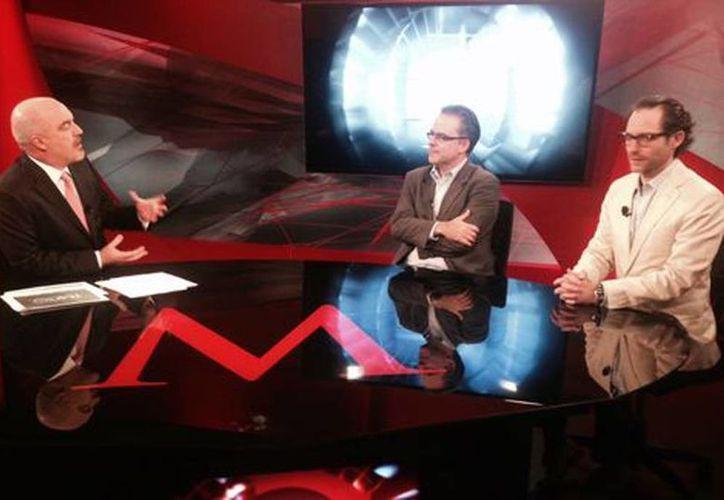 Entrevista de Carlos Puig al director general del Imco, Juan Pardinas y Rodrigo Canales, el director del Imco. (Milenio Digital)