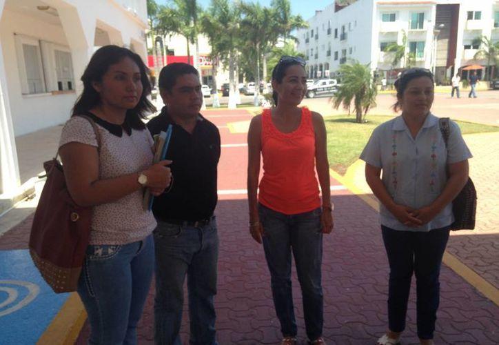 Miembros del Comité de Lucha Magisterial de Solidaridad realizan reuniones. (Luis Ballesteros/SIPSE)