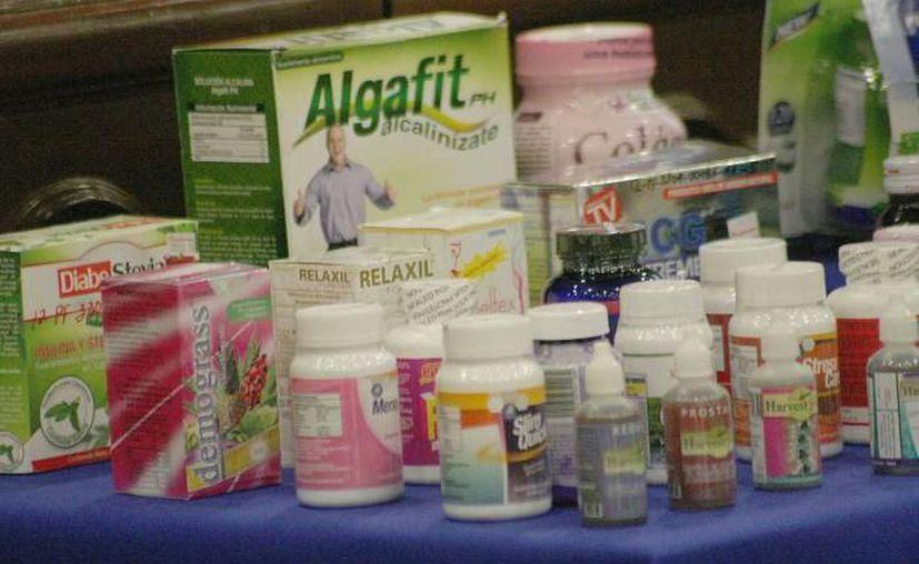 Los llamados productos 'milagro' no curan, ni alivian y mucho menos proporcionan los beneficios que ofrecen. (Milenio Novedades)
