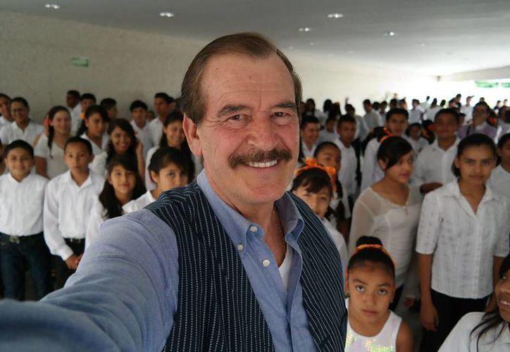 Vicente Fox asegura que el gobierno ha sido totalmente incapaz de reducir la circulación de las drogas. (facebook.com/PresidenteVFox)