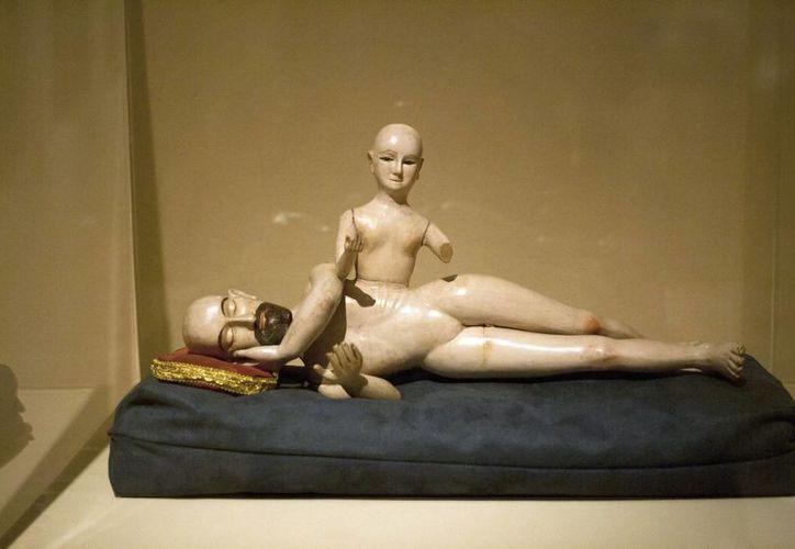 """Una de las exposiciones de la muestra """"Cuerpo: los tesoros del Museo Soumaya"""", en el Centro Cultural de Mérida """"Olimpo"""". (Notimex)"""