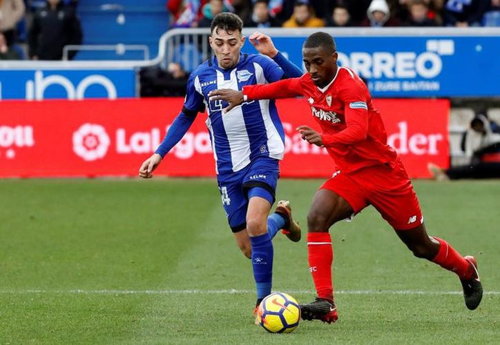 Sevilla FC perdió 0-1 frente al Deportivo Alavés. (Internet)