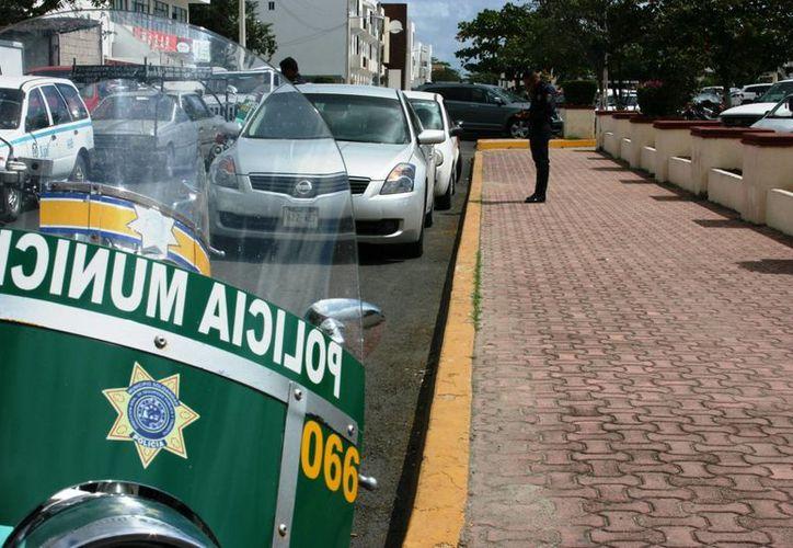 Con el tarjetón turístico se protegerá a los turistas por faltas menores de tránsito de manera local. (Adrián Barreto/SIPSE)