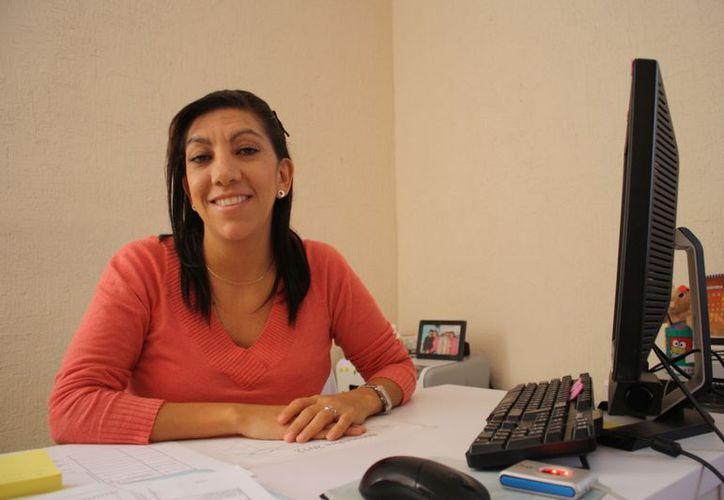 """Dominique Torres Reynoso dijo que se realizará en Cancún el congreso nacional """"Atención de las adicciones en el marco de los derechos humanos"""". (Yenny Gaona/SIPSE)"""