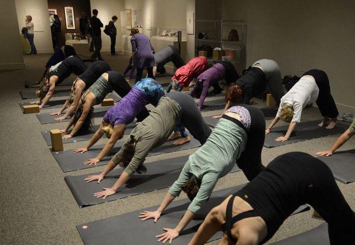 La propuesta para conmemorar el Día Internacional del Yoga fue impulsada por India. (EFE)