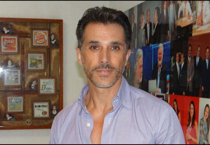 Sergio Mayer fue mánager de su hijo. (Radio Fórmula)