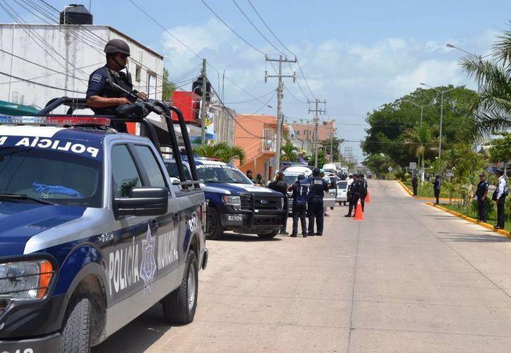 El Cabildo autorizó ayer a creación de un Concejo de Seguridad Pública cuya labor será frenar la delincuencia en el municipio. (Redacción/SIPSE)