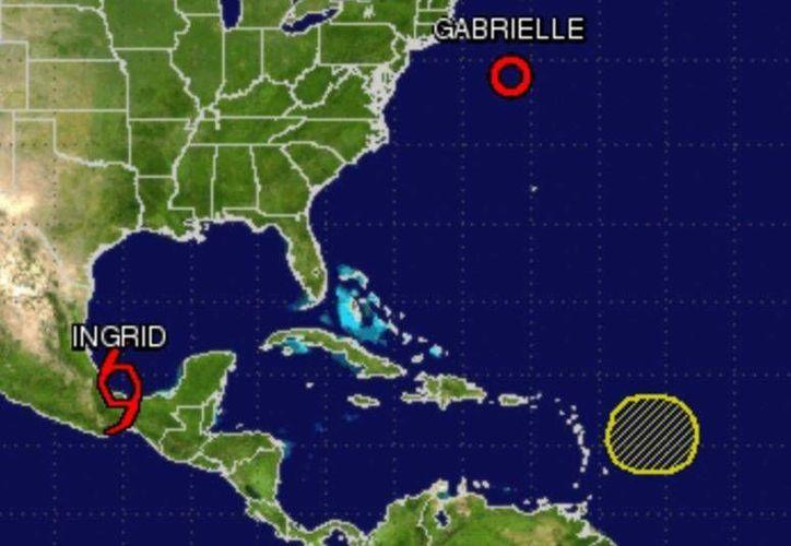 El fenómeno continuará causando lluvias en la zona.  (noaa.gov)