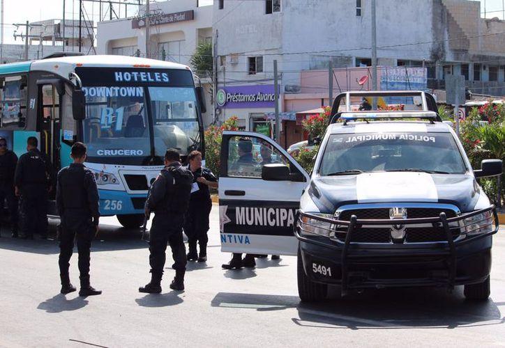 El presunto ladrón fue trasladado al Hospital General por las lesiones que sufrió . (Redacción/ SIPSE)