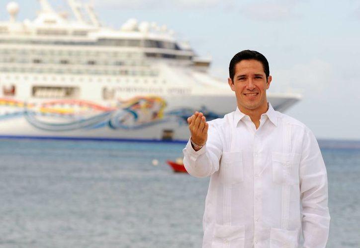 Los gobiernos de Quintana Roo y de Cozumel mantienen buena relación con las navieras. (Cortesía/SIPSE)
