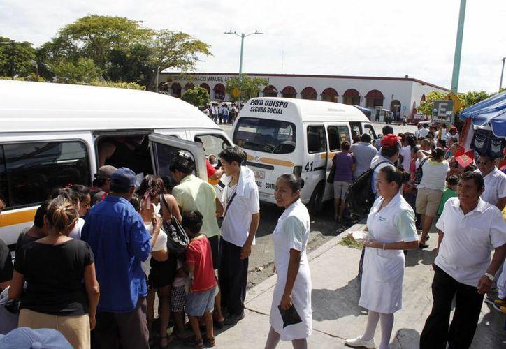 Las deficiencias en el servicio, además de afectar a los usuarios, denigran la imagen pública de Chetumal. (Juan Palma/SIPSE)