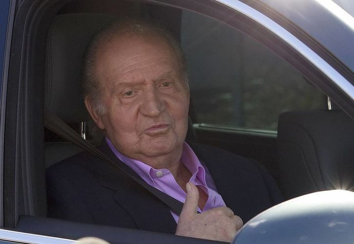 Juan Carlos de Borbón dijo a los medios de comunicación que se encontraba bien. (Notimex)