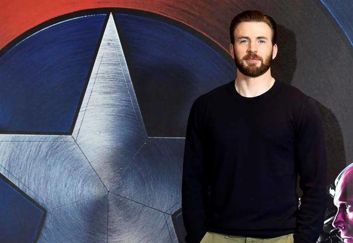 Chris Evans llega a los cines de México el próximo viernes 29 con 'Captain America: Civil War'. (EFE)