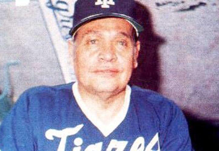 Alejo Peralta y Díaz Ceballos fundó a los Tigres en 1955. (desdeelbullpen.blogspot.com)