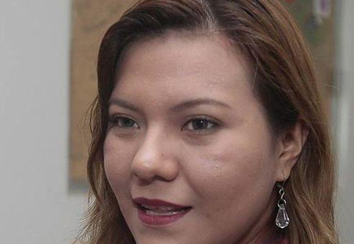 Sandybell Robaldino Aguilar,  coordinadora del Programa de Salud del Adolescente de la Jurisdicción Sanitaria Número 2. (Redacción/SIPSE)